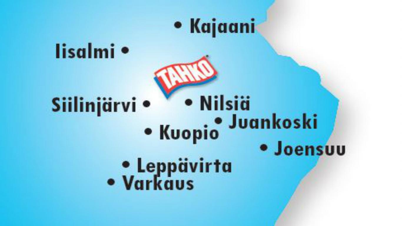 Tahko Sijaitsee Keskella Suomea Tahko