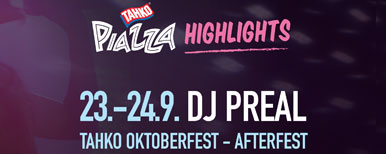 DJ PREAL SHOW - AFTERFEST - TAHKO OKTOBERFEST