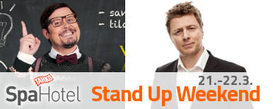 STAND UP WEEKEND 21-22.3.2014