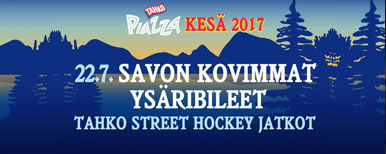SAVON KOVIMMAT YSÄRIBILEET - STREET HOCKEY AFTER PARTY