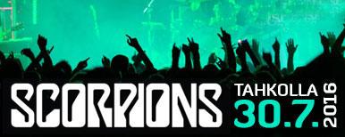 Rocklegenda Scorpions heinäkuussa  Rockin' Tahko -festivaaleilla!