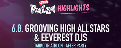 GHA & EEVEREST DJS - TAHKO TRIATHLON -AFTERPARTY