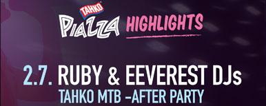 RUBY & EEVERST DJS - TAHKO MTB -AFTER PARTY