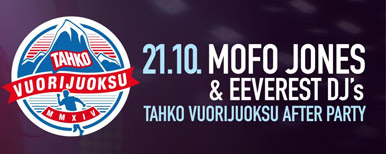 MOFO JONES - TAHKO VUORIJUOKSU AFTER PARTY 21.10.2017