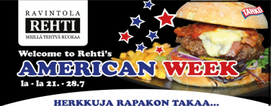 American week in Rehti restaurant