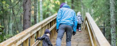 Ohjattu porraskävely 7-12 vuotiaille lapsille