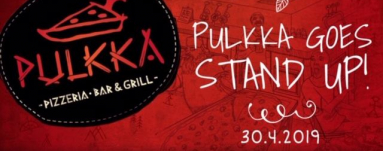 Pulkka Goes Stand Up!