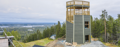 Opening of Tahko view tower